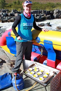 Orange River rafting at Hopetown