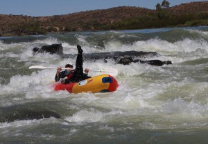 Orange River rafting Hopetown