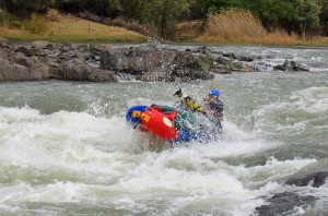 Hubblu-Bubbly-at Orange River rafting Hopetown