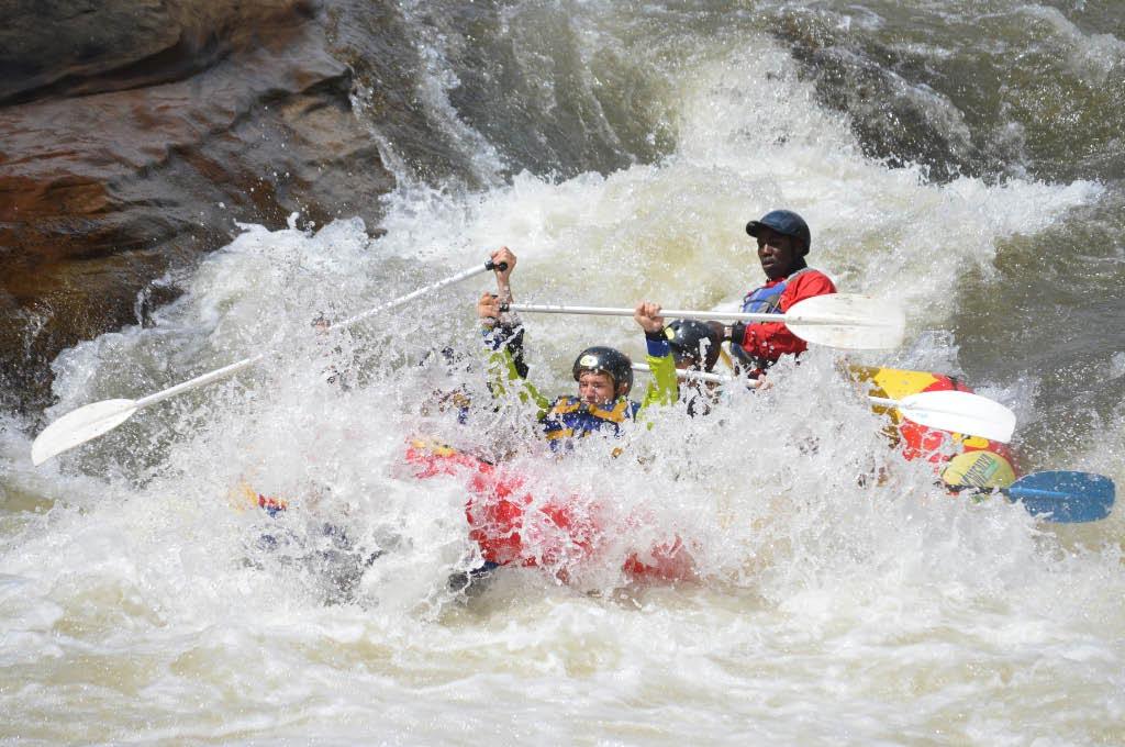 Ash river rafting
