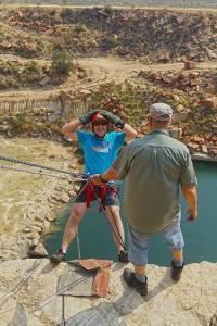 Abseiling Ingwenya tours