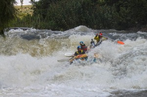 Safe rafting with Ingwenya tours