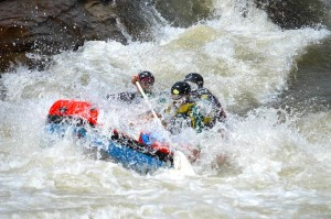 Bridge rapid White water rafting with Ingwenya tours