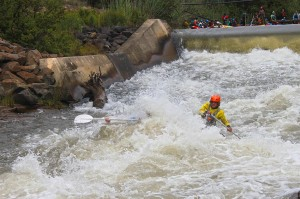 Big rapids on Ash river rafting