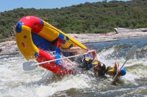Capsize-at-Gatsien-Vaal-River-Rafting