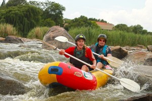S Rapid Parys river rafting