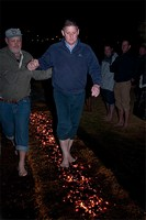 Fire walking  Parys