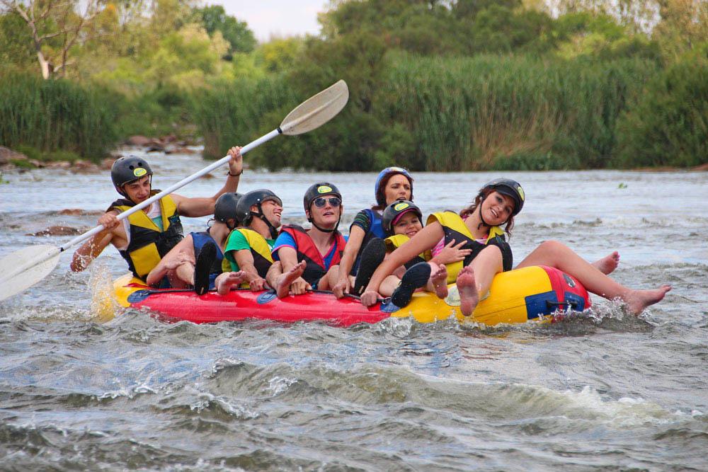 River rafting Parys