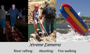 Extreme elements Parys activities
