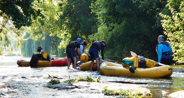 Vaal River rafting