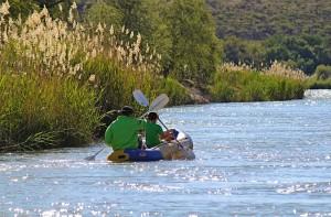 Gone fishing Hopetown rafting