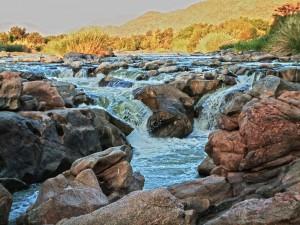 Camping at Ghum Ghum Falls Orange River Pella.
